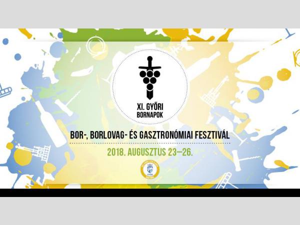 Csütörtöktől vasárnapig újra Győri Bornapok