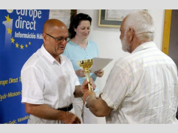 Megyei borverseny Kópházán A kékfrankos és a fűszeres tramini nyert