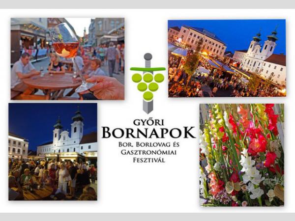 Győri Bornapok, Bor-, Borlovag és Gasztronómiai Fesztivál - 2016. augusztus 25-28.