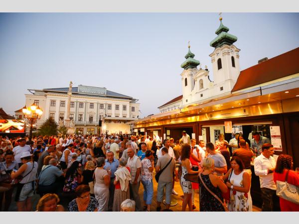 Az idén is díjazták a Győri Bornapok legjobb borait és megválasztották Győr város borát is.